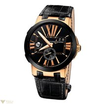 Ulysse Nardin Executive Dual Time 18K Rose Gold Men's Watch