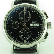 IWC Portofino 3783 Chronograph Steel Automatic Day Date Chrono...