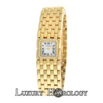 Cartier Authentic Lady's  Ruban 2421 Diamonds 18K Yellow...