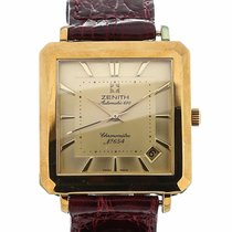 Zenith Automatic 670 Gold Rectangle