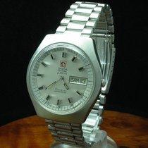 Omega Geneve Electronic F300 Hz Stimmgabel Edelstahl Chronomet...