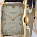 Patek Philippe 1588 Vintage Rectangle, Yellow Gold, ca. 1953