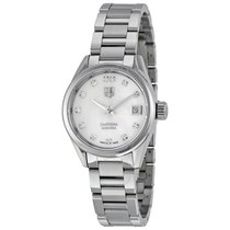 TAG Heuer Carrera Automatic White Dial Stainless Steel Ladies...