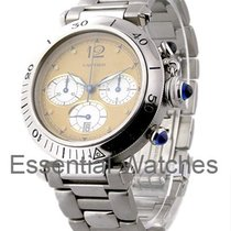 Cartier 38mm Pasha Chrono Old Style