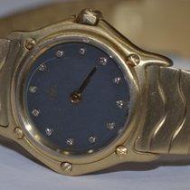 Ebel Classic Wave 18K Solid Gold Diamonds