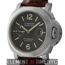 Panerai Luminor Collection Luminor Marina 44mm Titanium Brown...