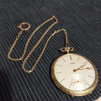 天梭 (Tissot) 1934 18k gold openface - Ch. F. Tissot & fils,...