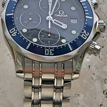 Omega Seamaster Diver 300M Chronograph 2225.80.00 Blue Dial