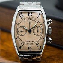 Franck Muller 5850 C CC Casablanca Chronograph Salmon Dial SS...