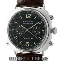 Panerai Radiomir Collection Chronograph Rattrapante Stainless...