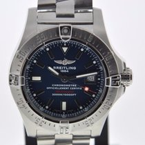 Breitling AVENGER SEAWOLF BLUE 2 YEAR FELDMAR WATCH COMPANY...