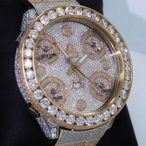 Jacob & Co. Five Time Zone 18k Rose Gold All Factory...