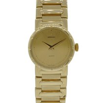Movado Ladies 14kt Yellow Gold On Bracelet With Champagne Dial