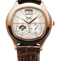 Piaget GOA32017 Black Tie Emperador Cushion in Rose Gold - on...