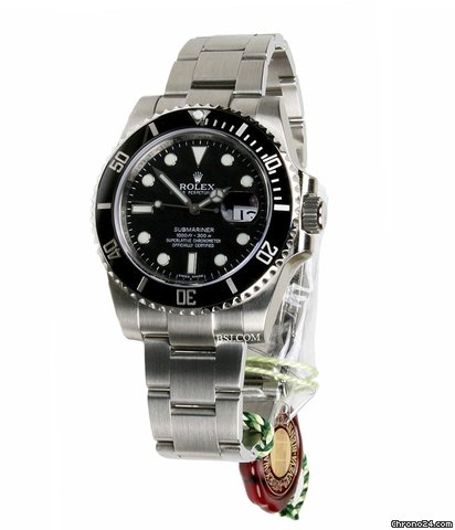 Rolex SUBMARINER  STEEL BLACK CERAMIC BEZEL -V SERIAL