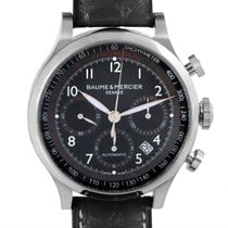 Baume & Mercier Capeland Mens Stainless Steel Automatic...