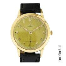 Omega Vintage rose gold dial tapisserie ref 2684