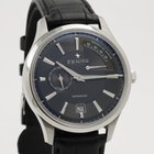 Zenith Captain Power Reserve Date in steel 03.2120.685/22.C493
