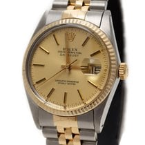Rolex Oyster Perpetual DATE JUST 18KA Gold & Steel