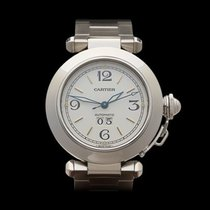 Cartier Pasha Big Date Stainless Steel Unisex 2475