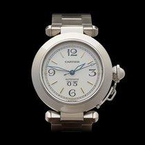 Cartier Pasha de Cartier Grand Date Stainless Steel Unisex 2475
