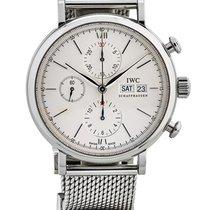 IWC Portofino Cronografo 42mm In Acciaio Ref. Iw391009