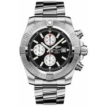 Breitling Men's A1337111/BC29/168A Super Avenger II Luxury...