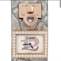 Chopard braclet watch rose gold original diamonds