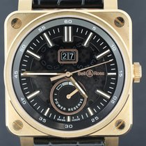 Bell & Ross Aviation BR03 Grande Date, Pink Gold 42MM MINT