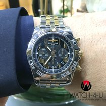 Breitling Chronomat 44 IB0110 18K/SS Roman Numer  Mens Watch