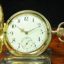 Revue Thommen 14kt 585 Gold Savonette Sprungdeckel Taschenuhr