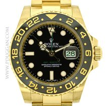 Rolex 18k yellow gold GMT-Master II