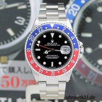 Rolex GMT Master II Stahl Ref:16710 - Rolex Box & Papiere...