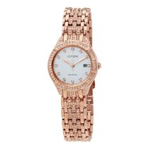 Citizen Silhouette Crystal Silver Dial Ladies Crystal Watch...
