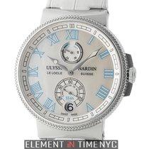 Ulysse Nardin Marine Collection Chronometer Manufacture Ladies...