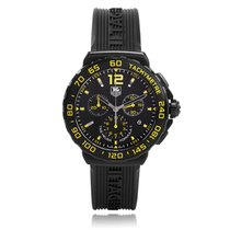 TAG Heuer Formula 1 Chronograph Black and Yellow Dial