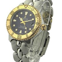 Bertolucci Diver Mens with Yellow Gold Bezel