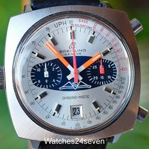 Breitling Vintage AOPA Chrono-Matic Automatic Date Blue &...