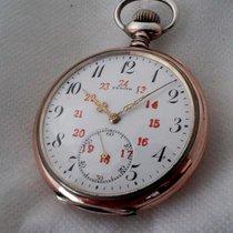 ゼニス (Zenith) rare silver with 24h dial, serviced march 2016