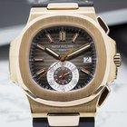 Patek Philippe Nautilus Chronograph 18K Rose Gold / Brown...