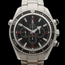 Omega Seamaster Planet Ocean Chronograph Stainless Steel Gents...