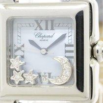 Chopard Polished Chopard Happy Sport Diamond Blue Mop Dial...