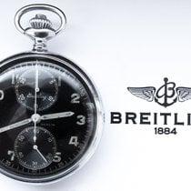 Breitling A.LÜNSER BERLIN MILITARY 2.WW POCKETWATCH  CHRONOGRAPH