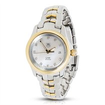 TAG Heuer Link WJF1353 Quartz Women's Watch in 18K Yellow...