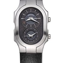 Philip Stein Signature Swiss Large with black calf strap