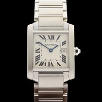 Cartier Tank Francaise Stainless Steel Ladies 2465