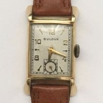 Vintage Mens Bulova 14k Solid Yellow Gold 21 Jewels