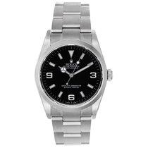 Rolex Explorer Stainless Steel Men's Watch 114270