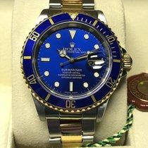 Rolex Submariner Blue Dial Steel&Gold