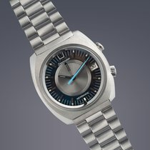 Omega Seamaster Memomatic stainless steel automatic alarm...